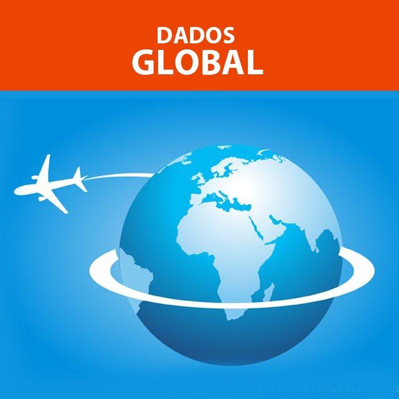 GLOBAL - Valor normal U$ 50,00, na promo para viagens até dez 2021 você ECONOMIZA U$ 15!