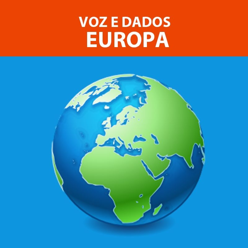 EUROPA - Valor normal U$ 54,00, na promo para viagens até dez 2021 você ECONOMIZA U$ 16,20!